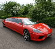 Ferrari Limo in Wednesbury