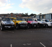 Jeep Limos and 4x4 Limos in Tottenham
