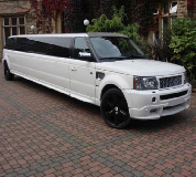 Range Rover Limo in Atherstone